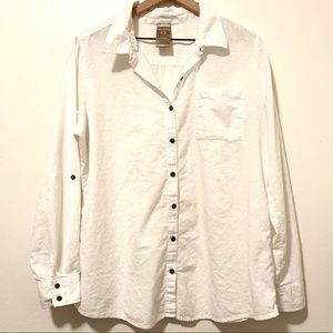 White stag button front shirt Size XL